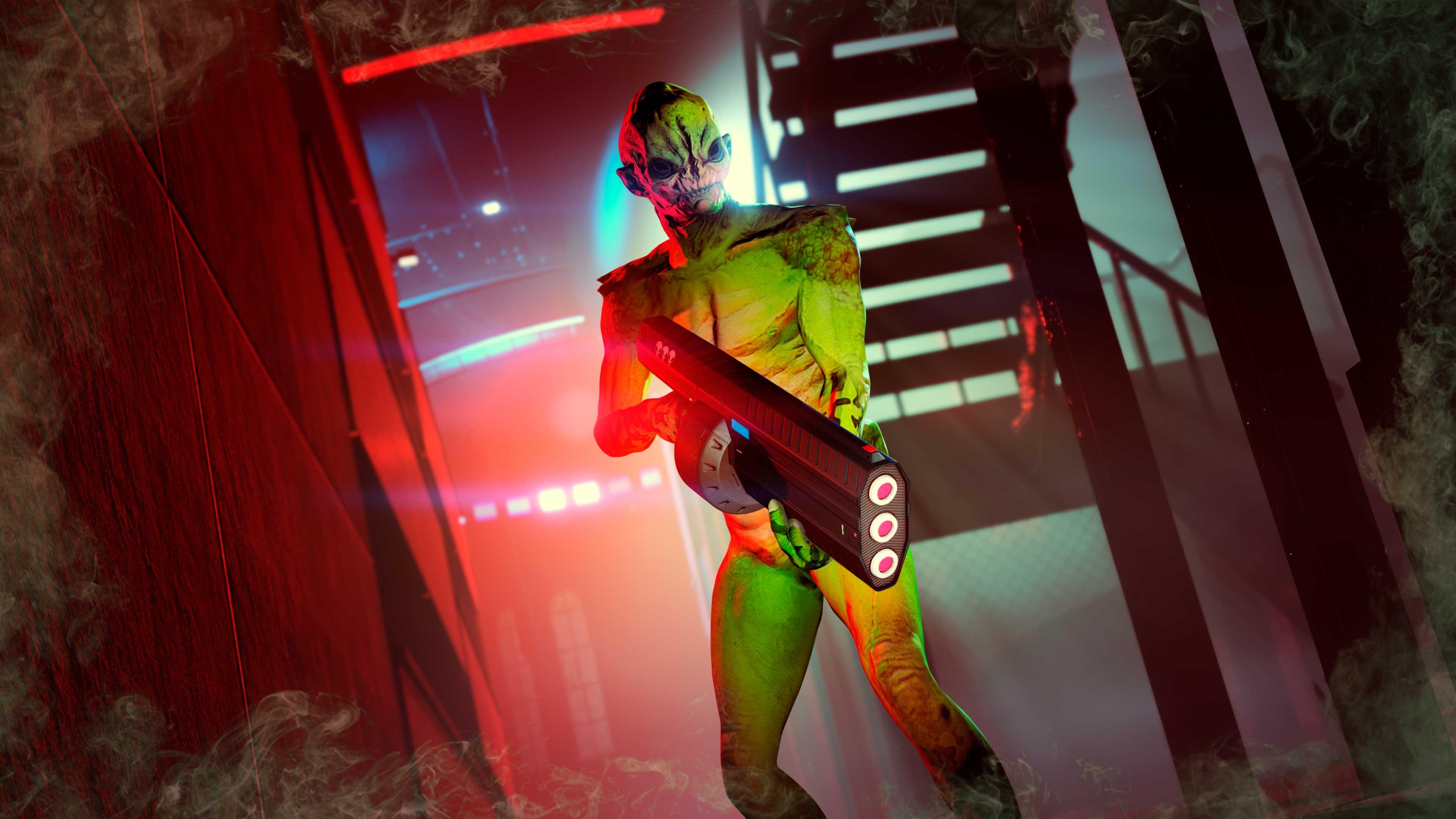 GTA Online Green Space Horror Suit jelmez