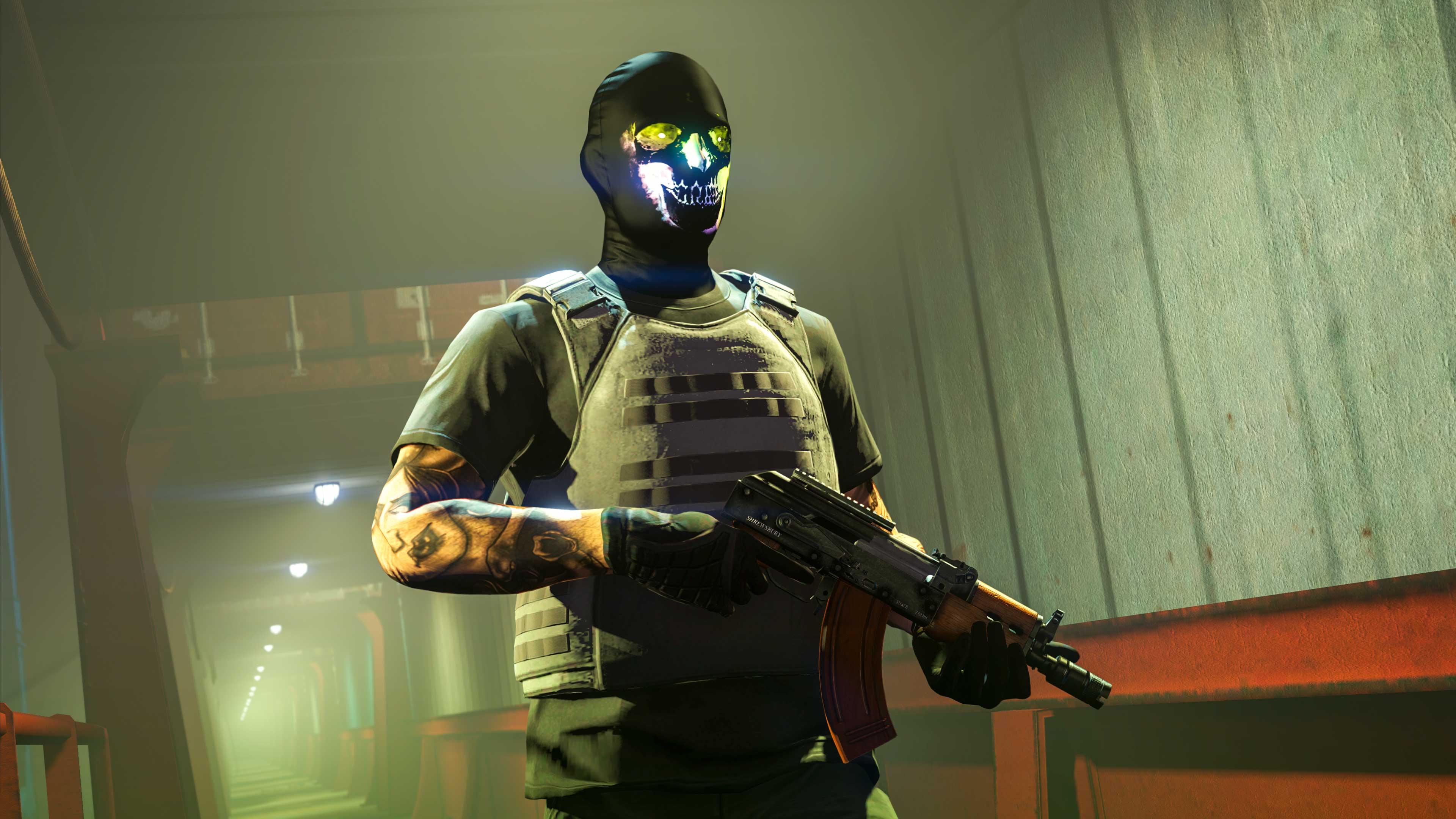 GTA Online Dark X-Ray Emissive Mask