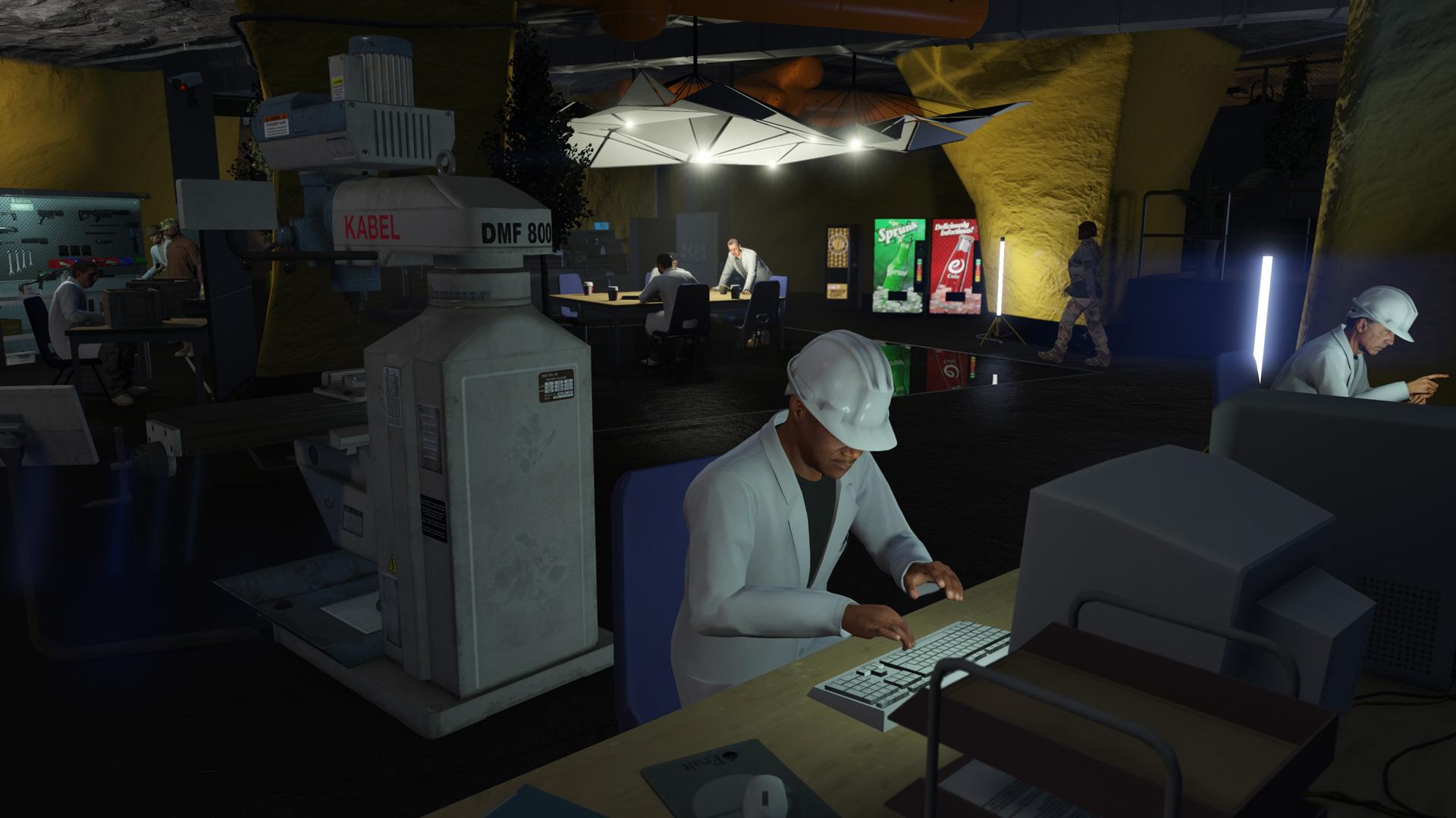 GTA Online Weekly Update: Bunker Research
