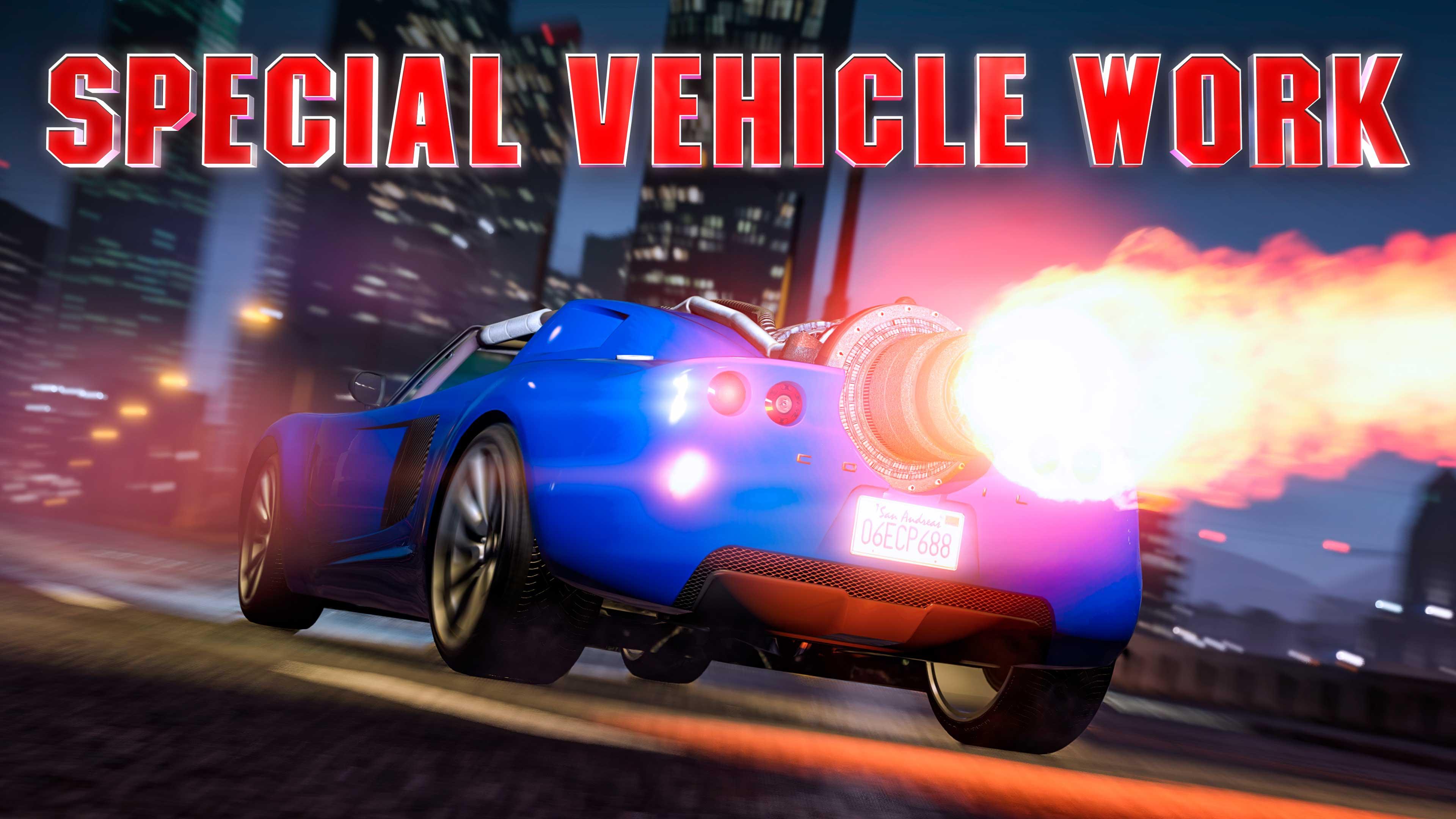 GTA Online Weekly Update: Cpecial Vehicle Work