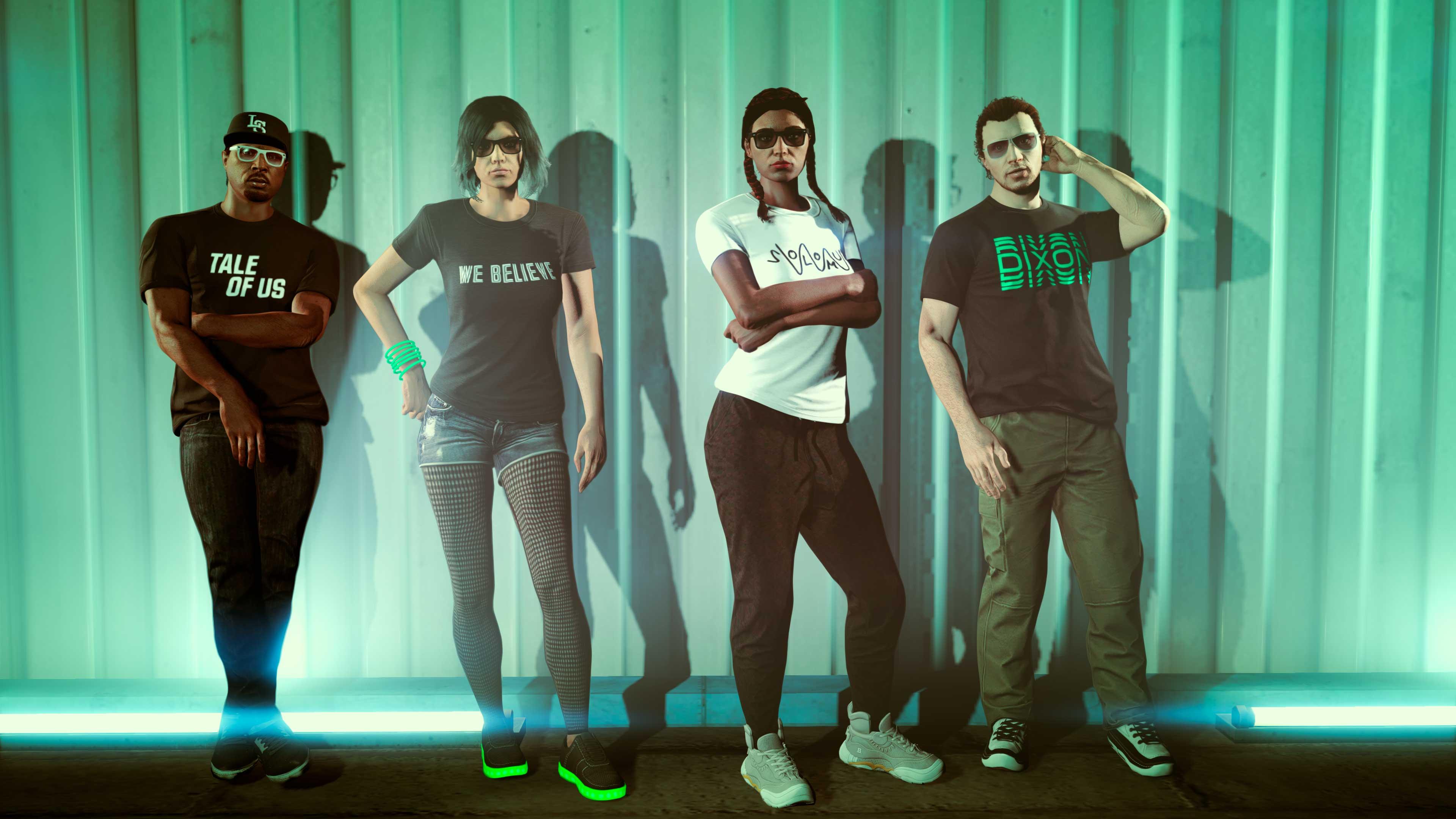 GTA Online Weekly Update: After Hours DJ pólók