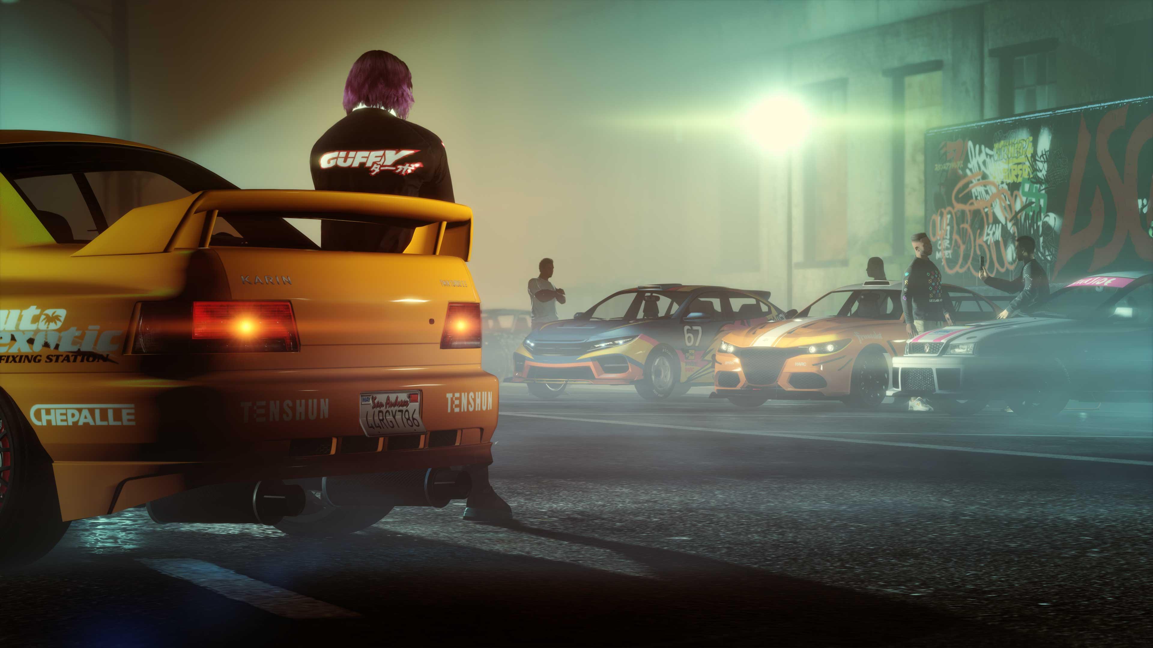 GTA Online Update: Car Meet