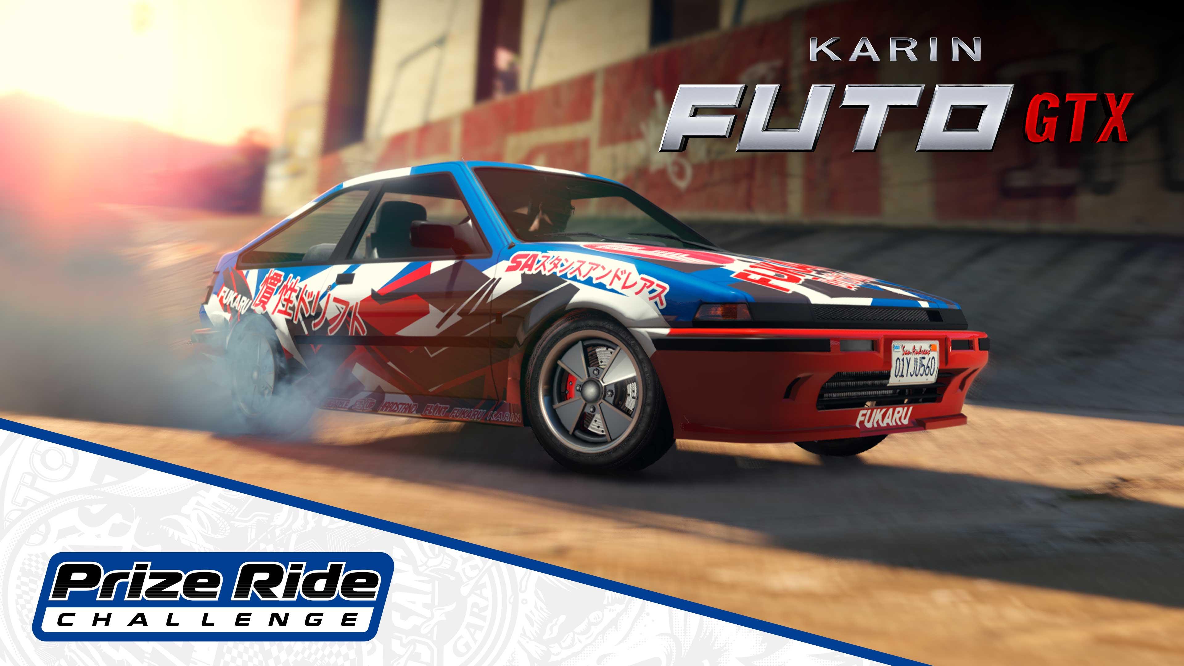 GTA Online Los Santos Tuners Prize Ride: Karin Futo GTX