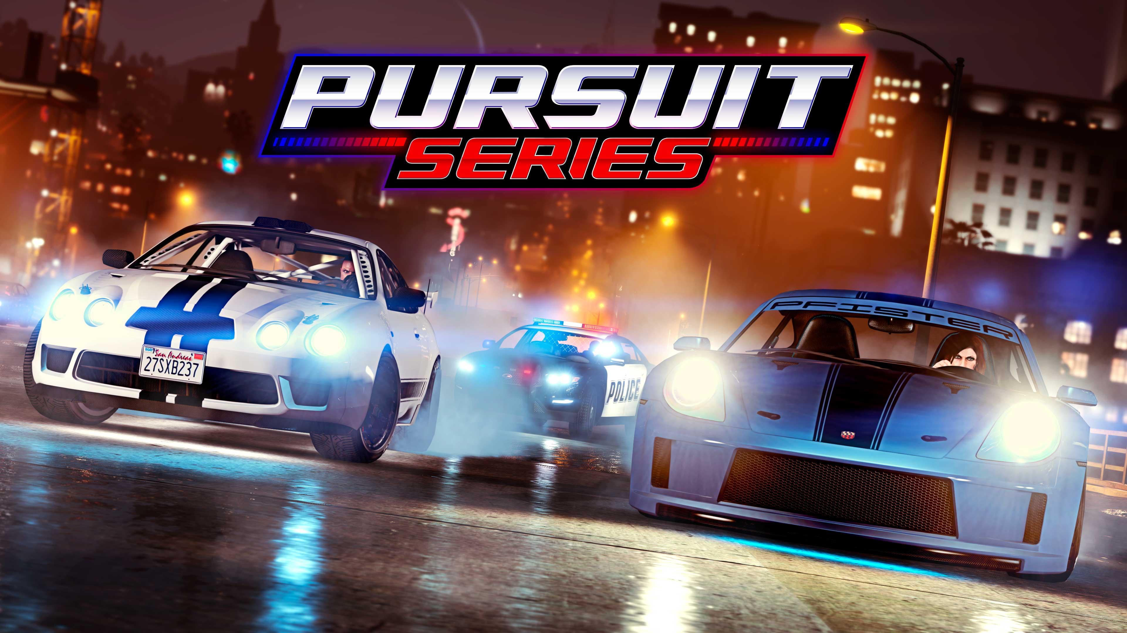 GTA Online Los Santos Tuners Pursuit Race