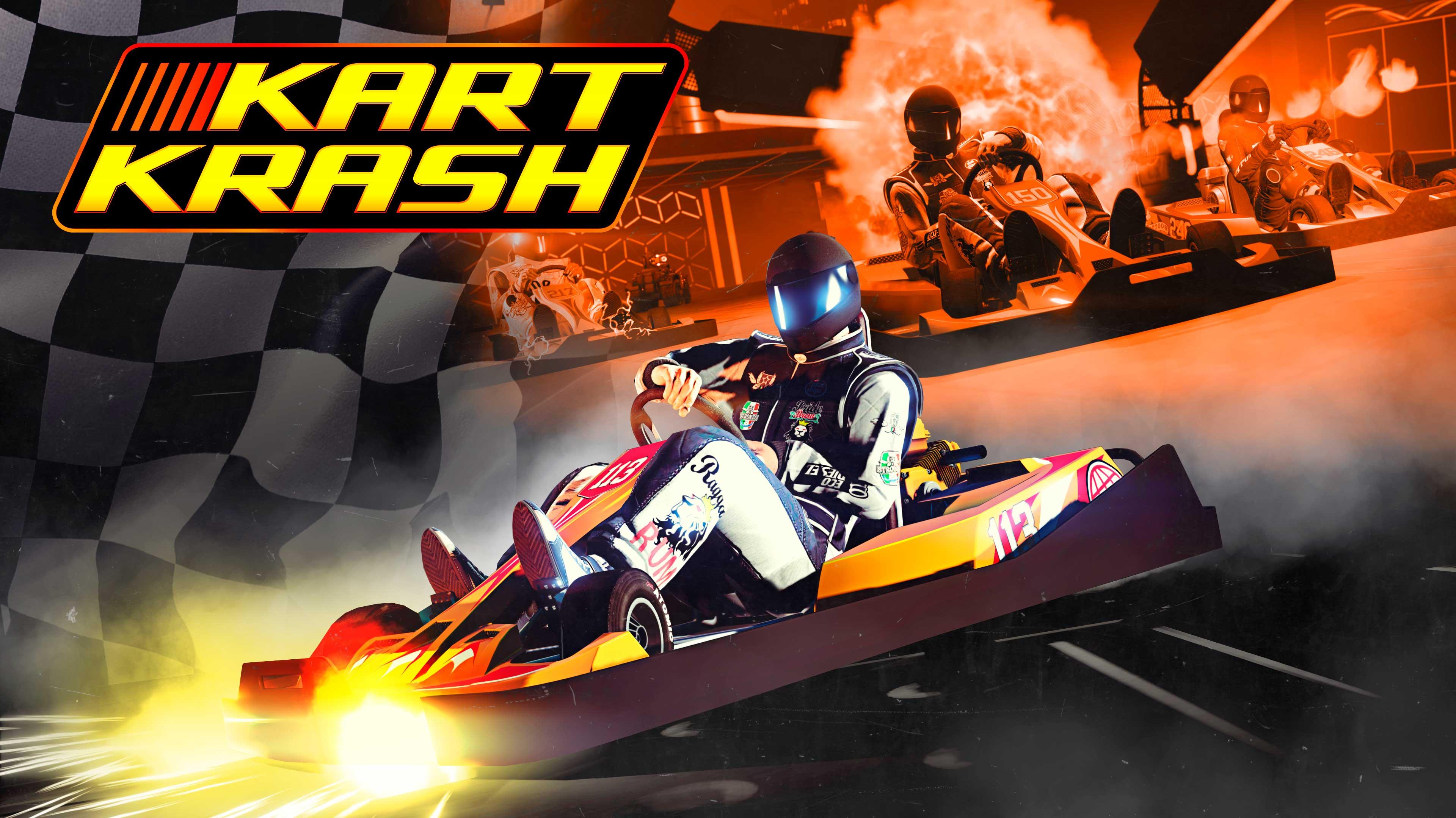 GTA Online Kart Crash