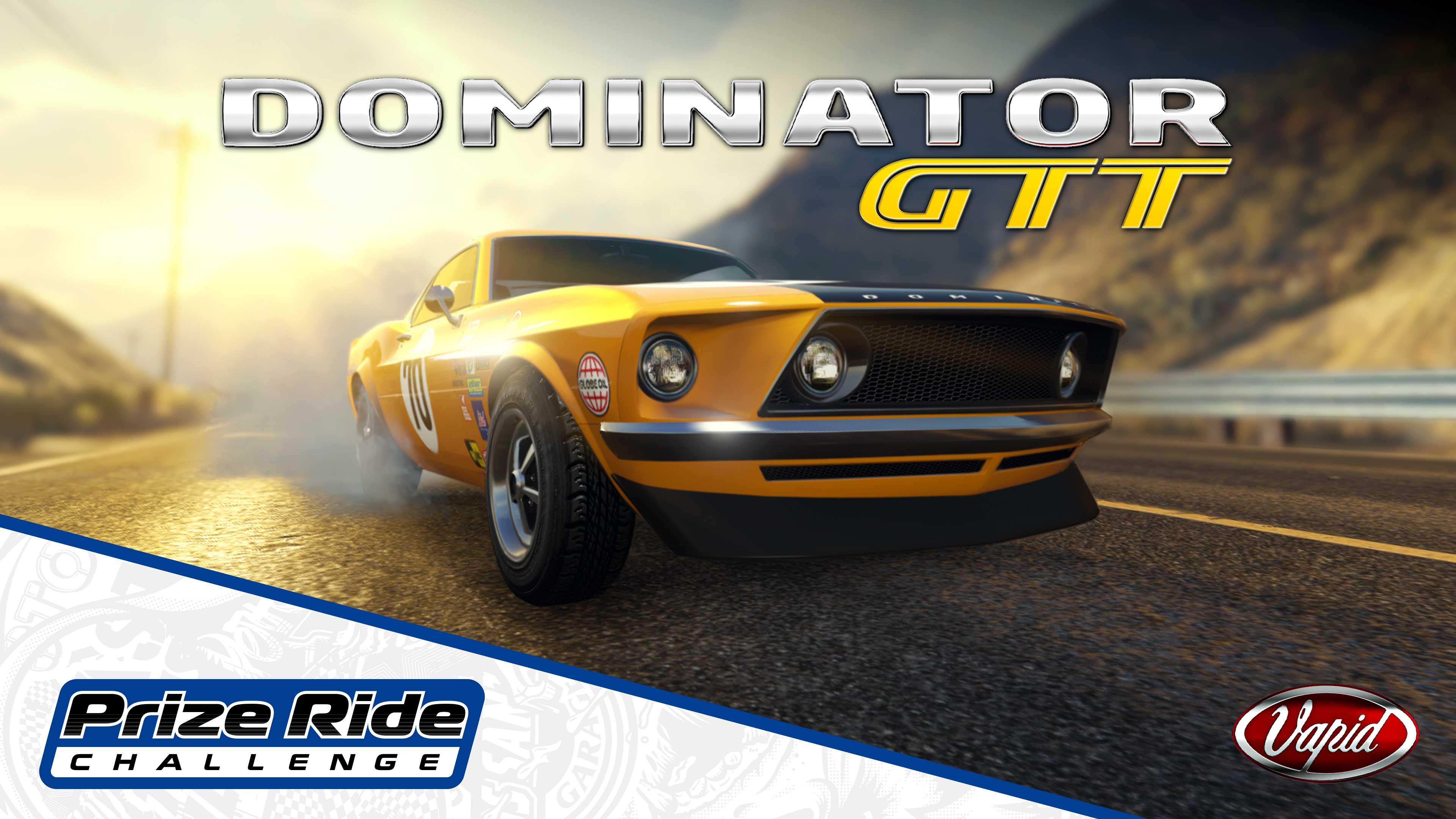 GTA Online Los Santos Tuners Prize Ride: Vapid Dominator GTT