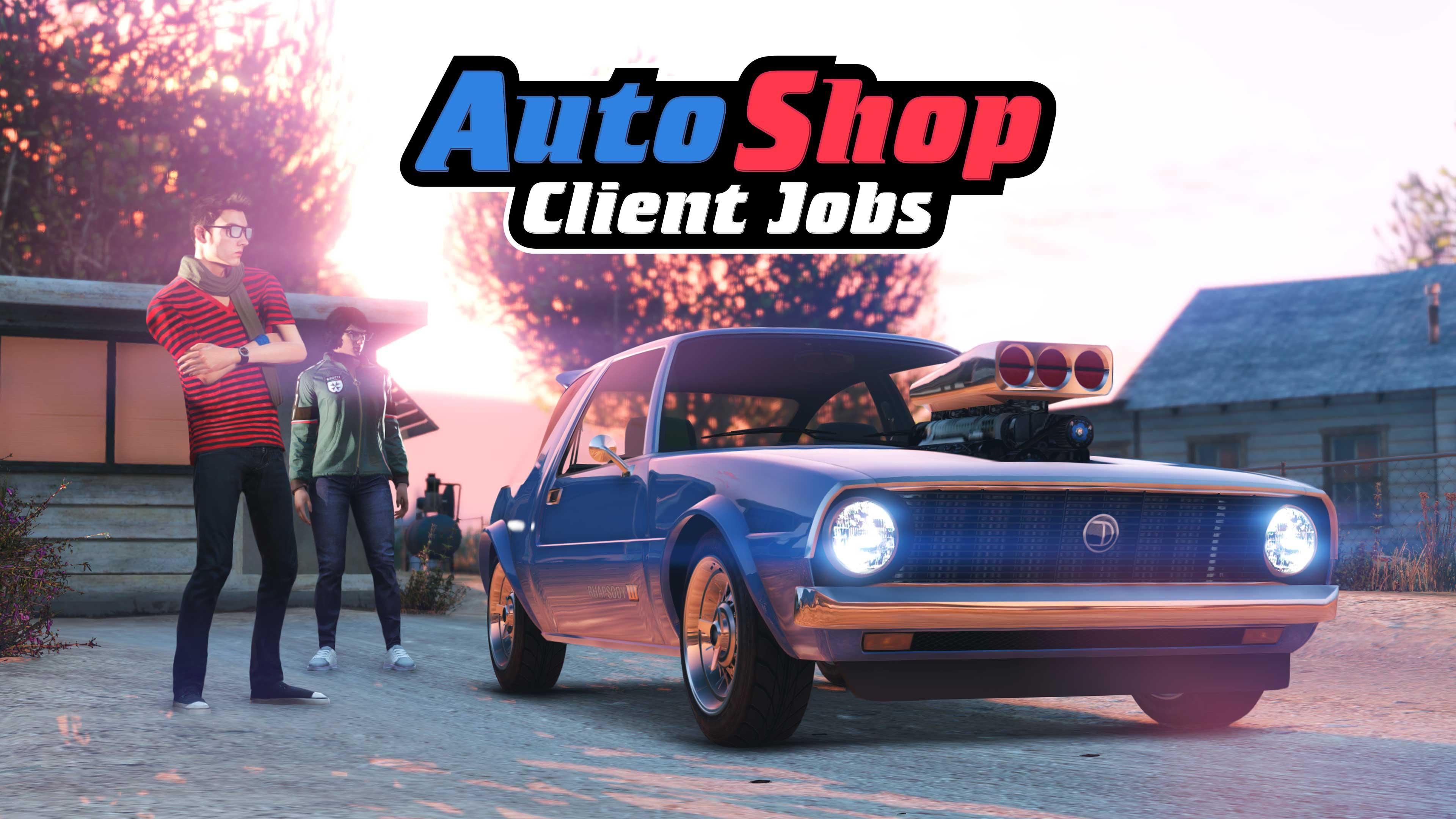 GTA Online Los Santos Tuners Auto Shop Client Jobs