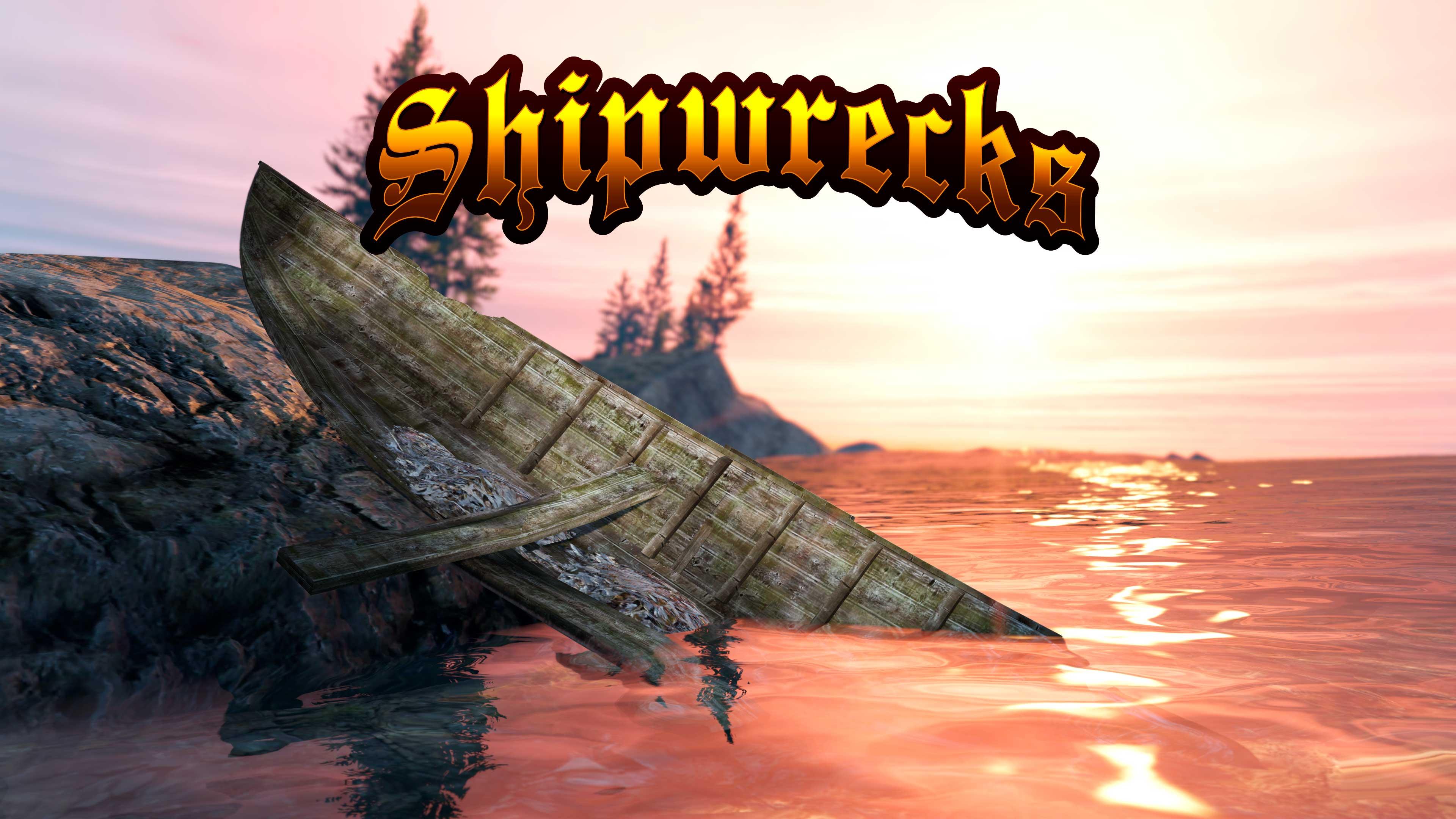 GTA Online Shipwrecks