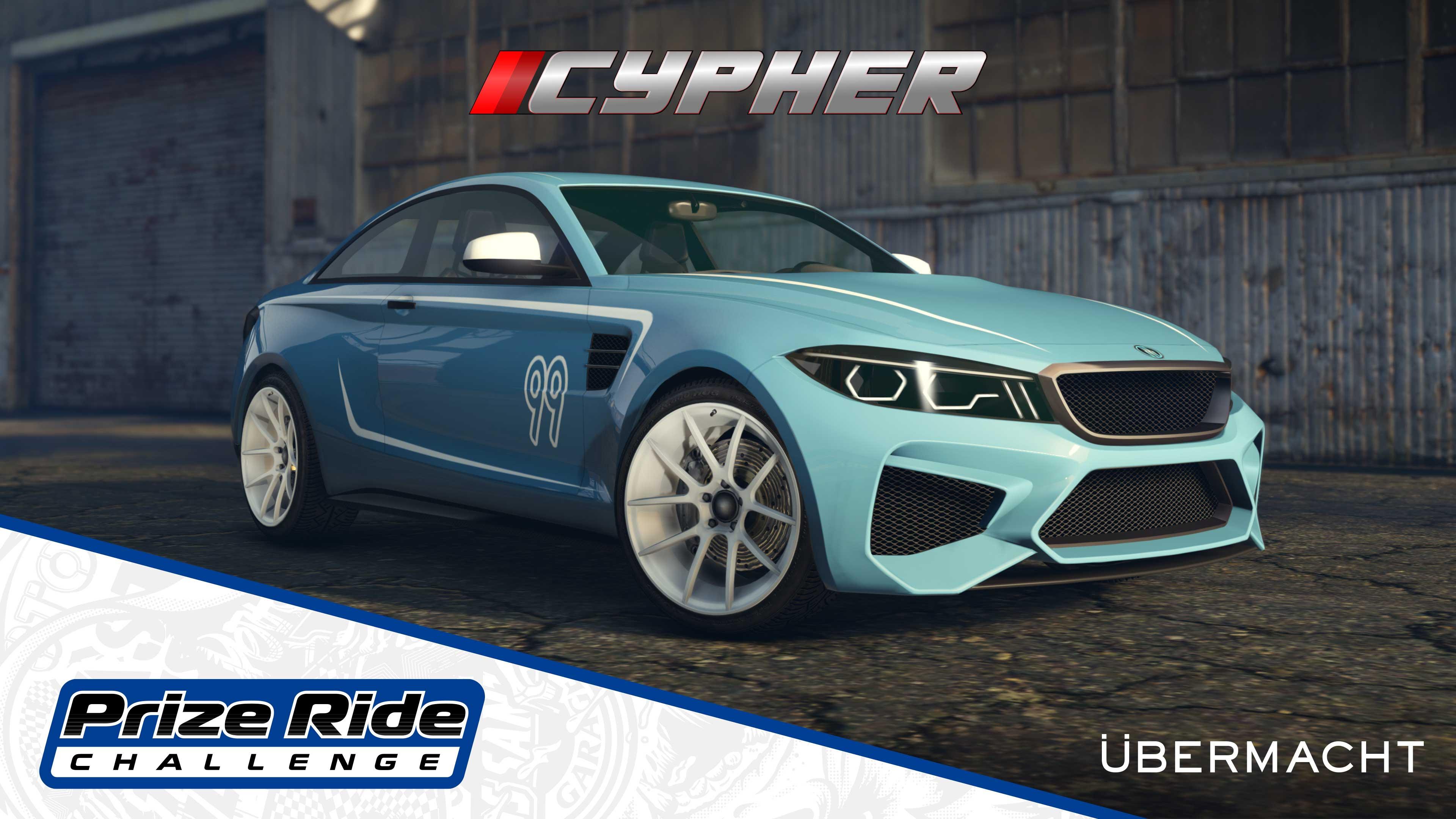 GTA Online Los Santos Tuners Prize Ride: Übermacht Cypher