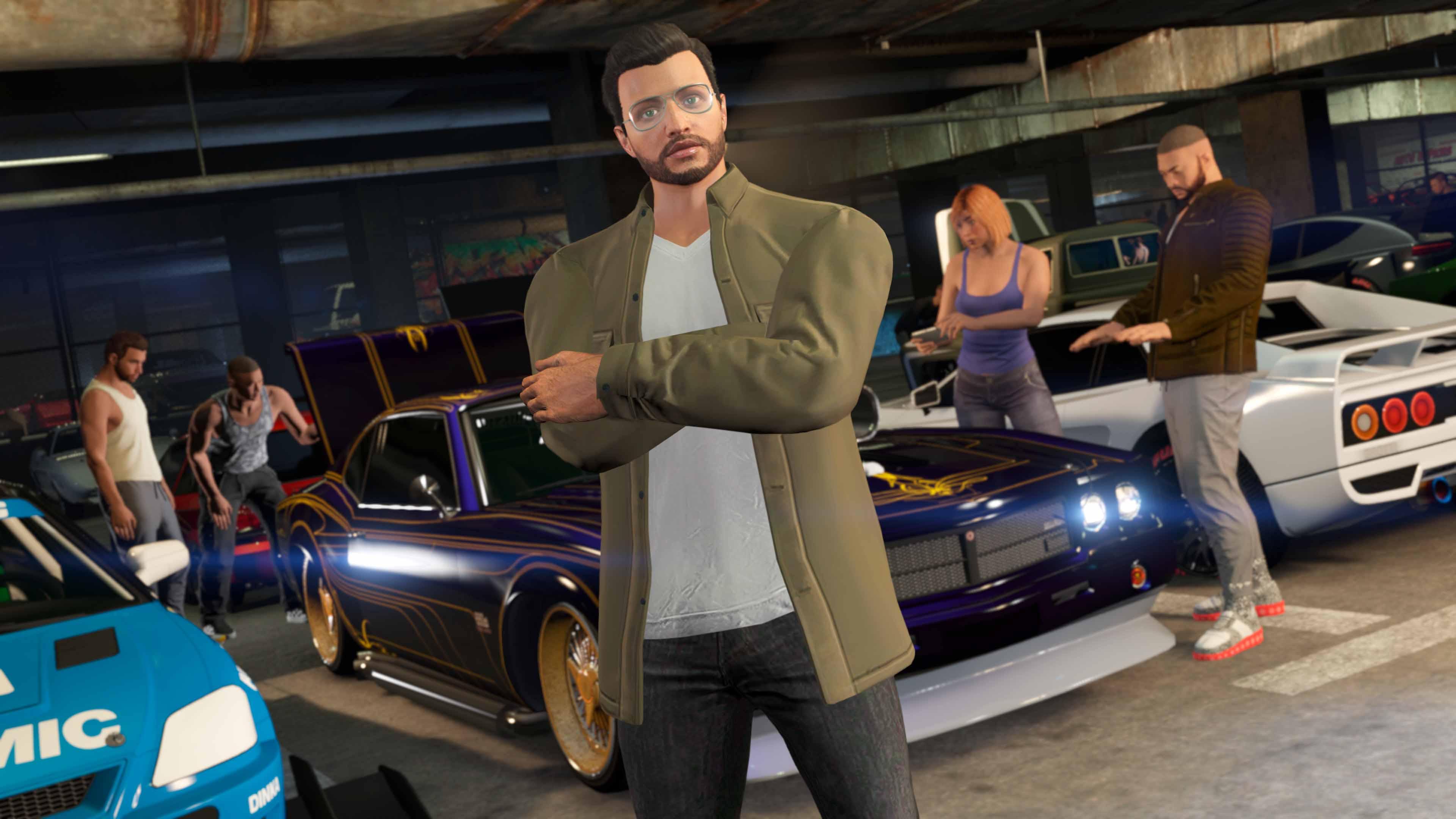 GTA Online LS Car Meet