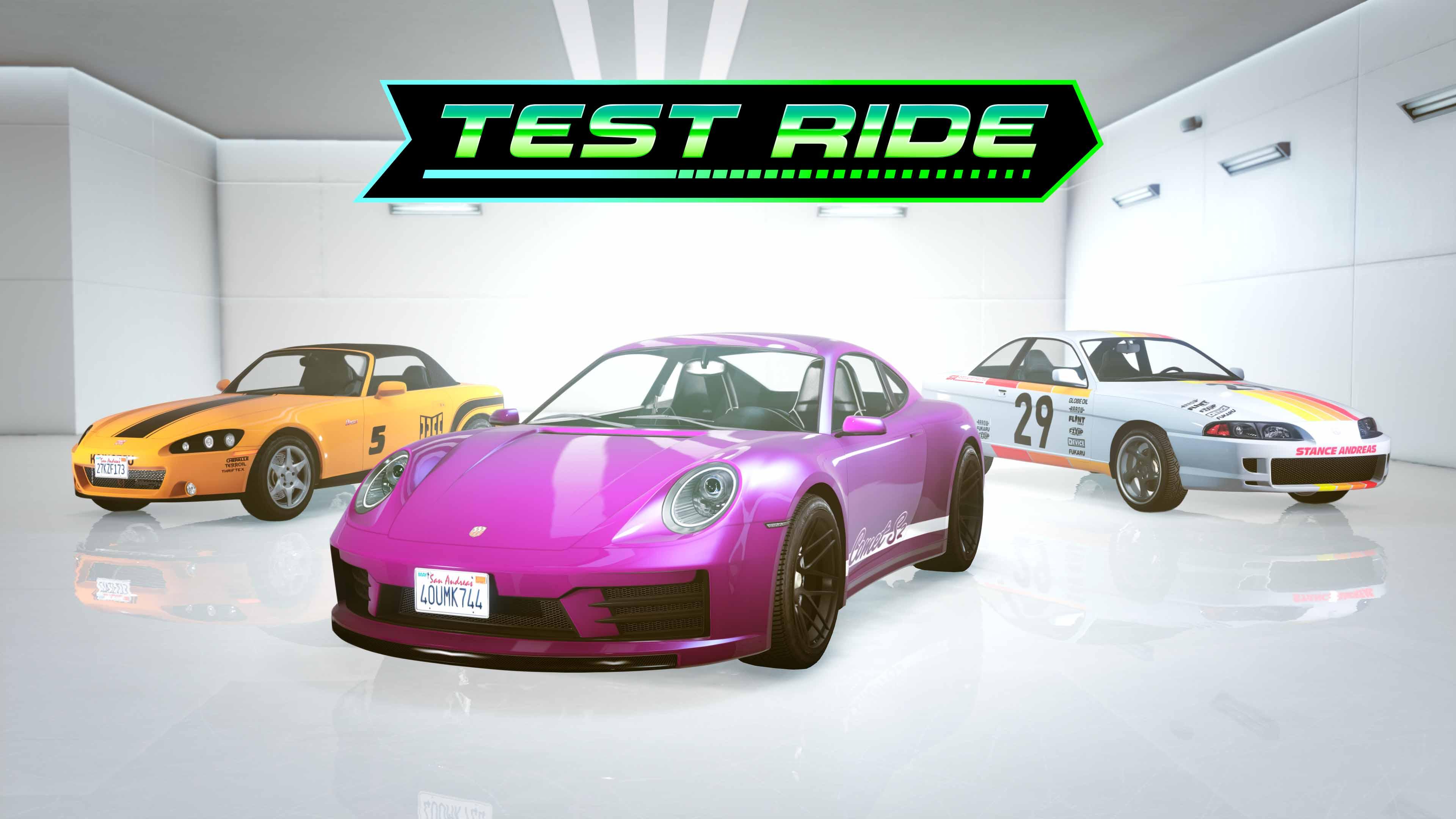 GTA Online Los Santos Tuners Test Drive