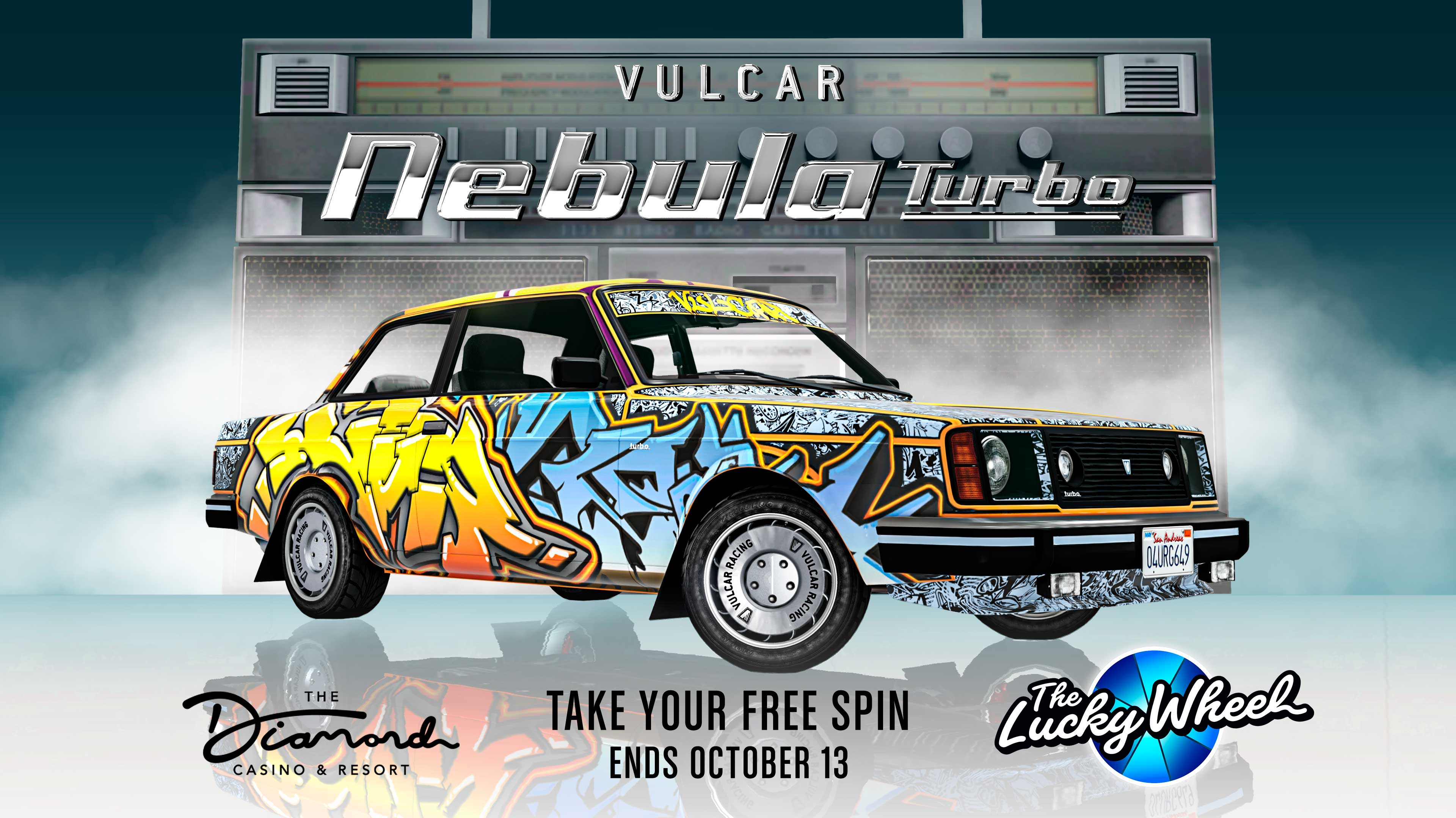 GTA Online Podium Lucky Wheel kocsi: Vulcar Nebula Turbo