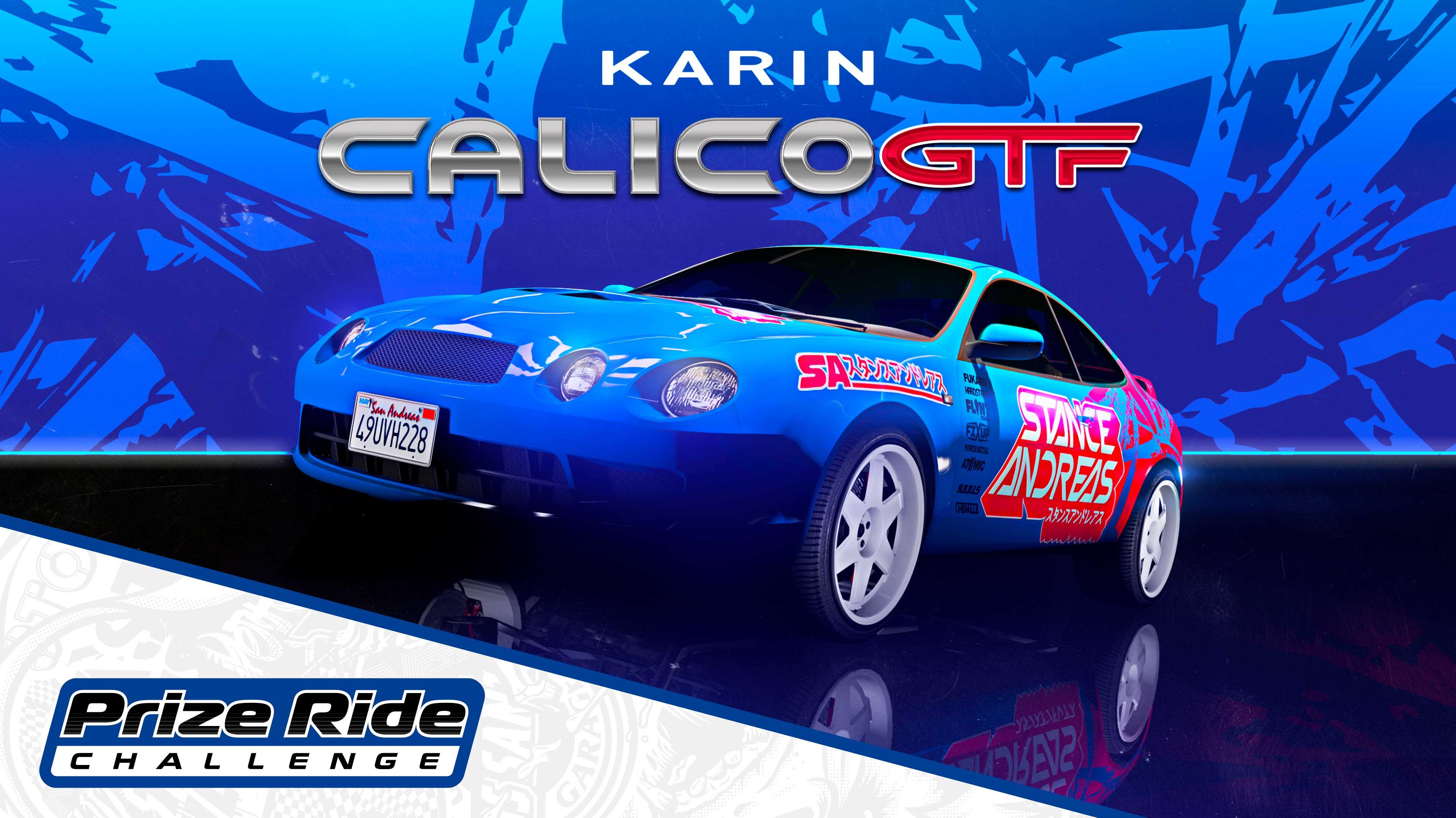 GTA Online Los Santos Tuners Prize Ride: Karin Calico GTF