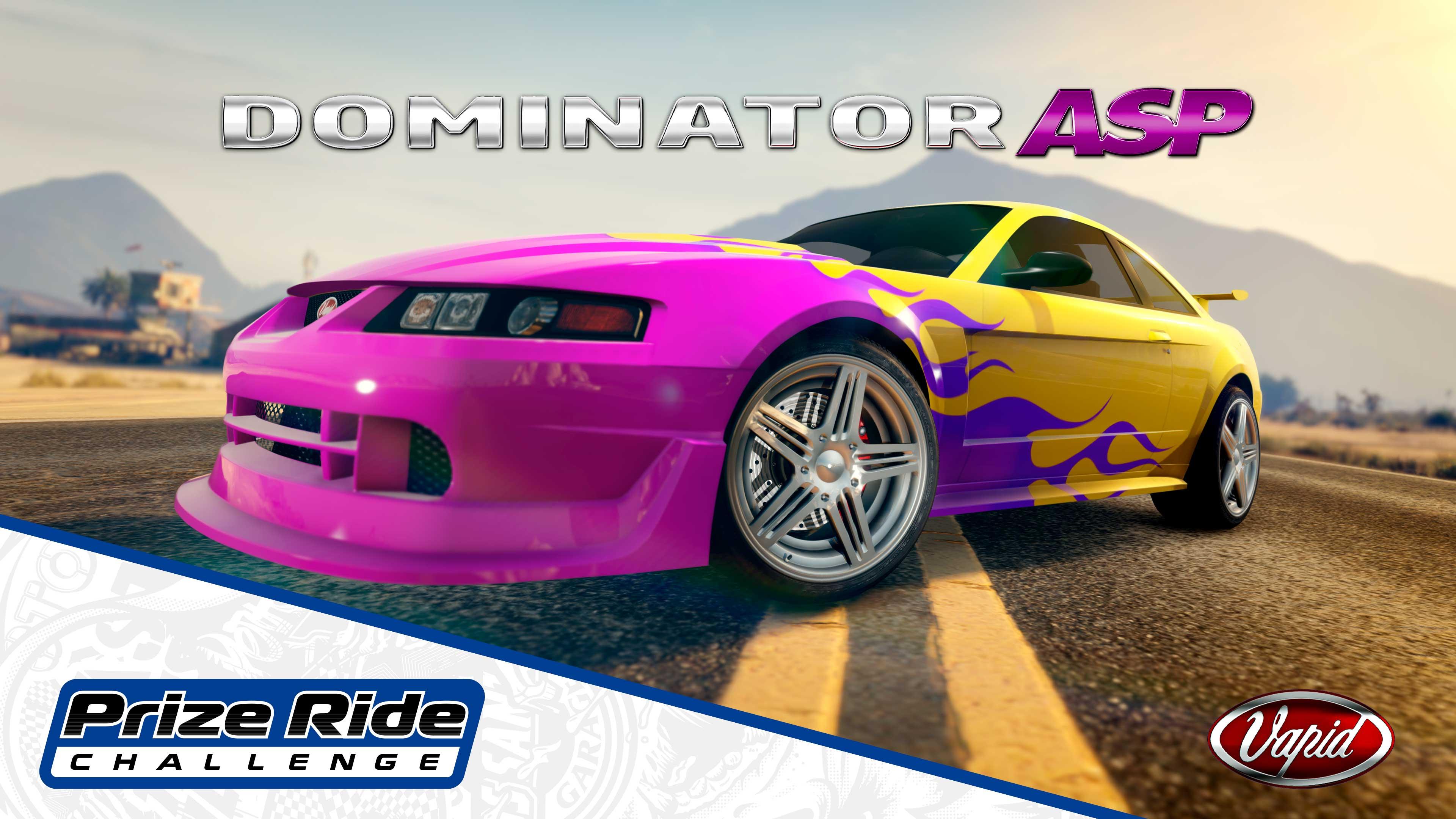 GTA Online Los Santos Tuners Prize Ride: Vapid Dominator ASP