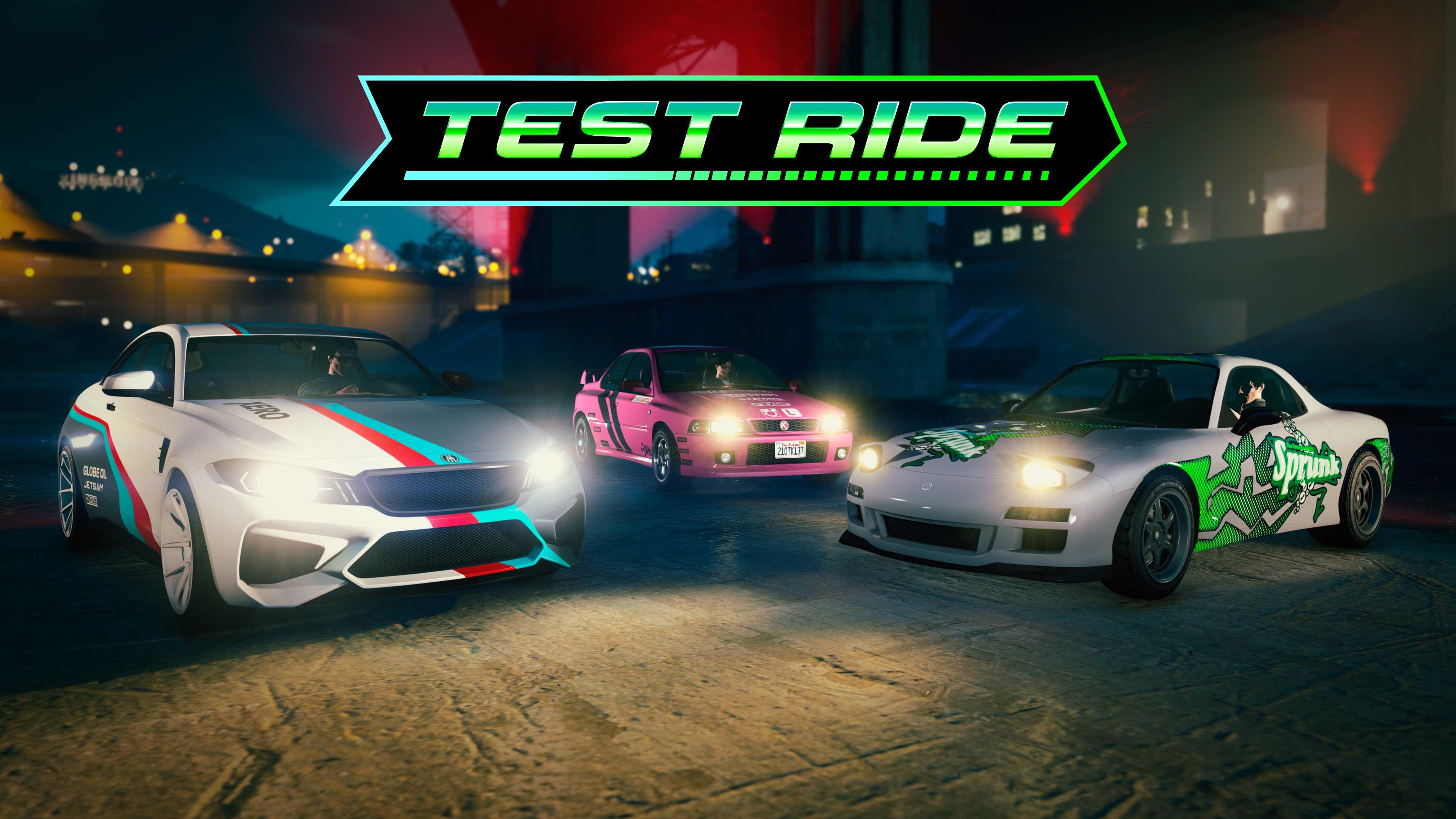 GTA Online Los Santos Tuners Test Ride