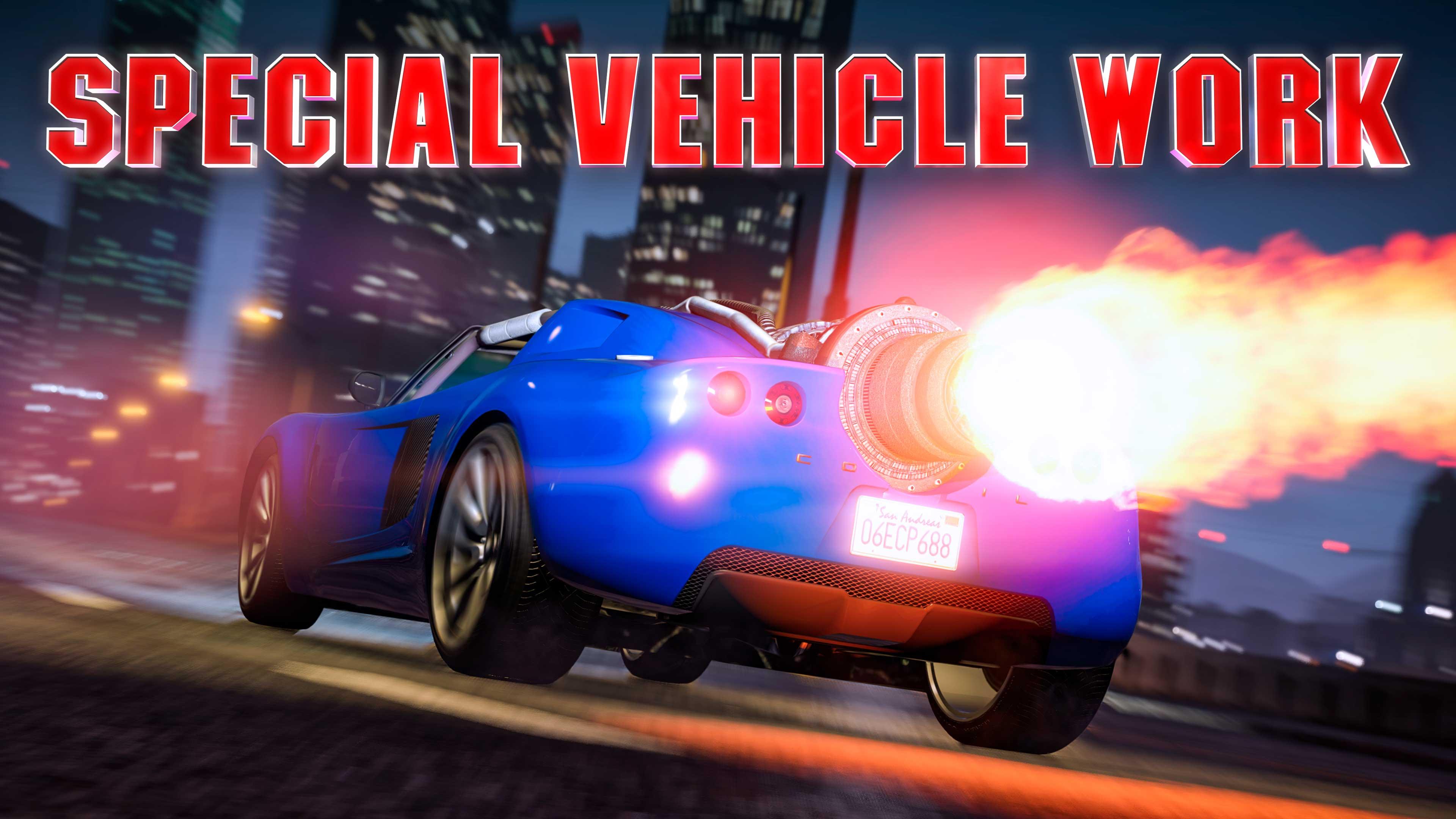 GTA Online Special Vehicle Work