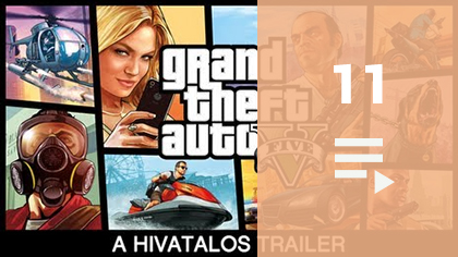 GTA V Trailers YouTube videólista