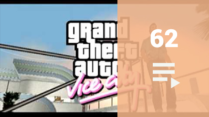 Grand Theft Auto Vice City YouTube videólista