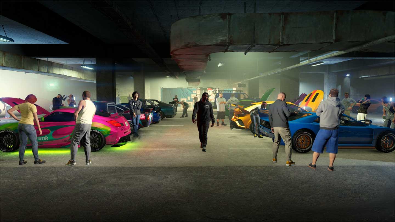 GTA Online Los Santos Tuners LS Car Meet