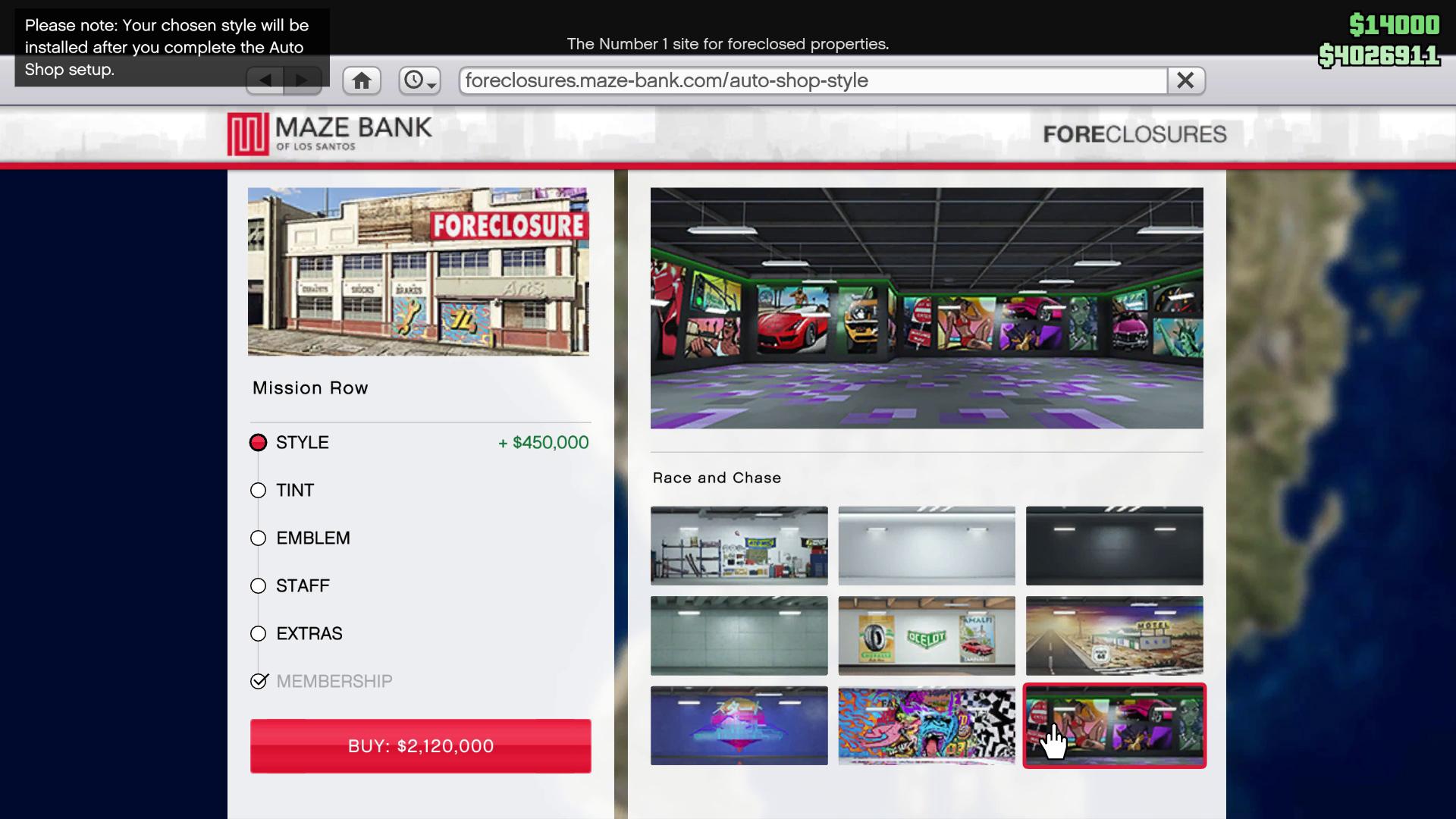GTA Online Los Santos Tuners Auto Shop