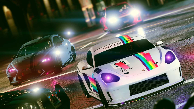 GTA Online Los Santos Tuners Street Race