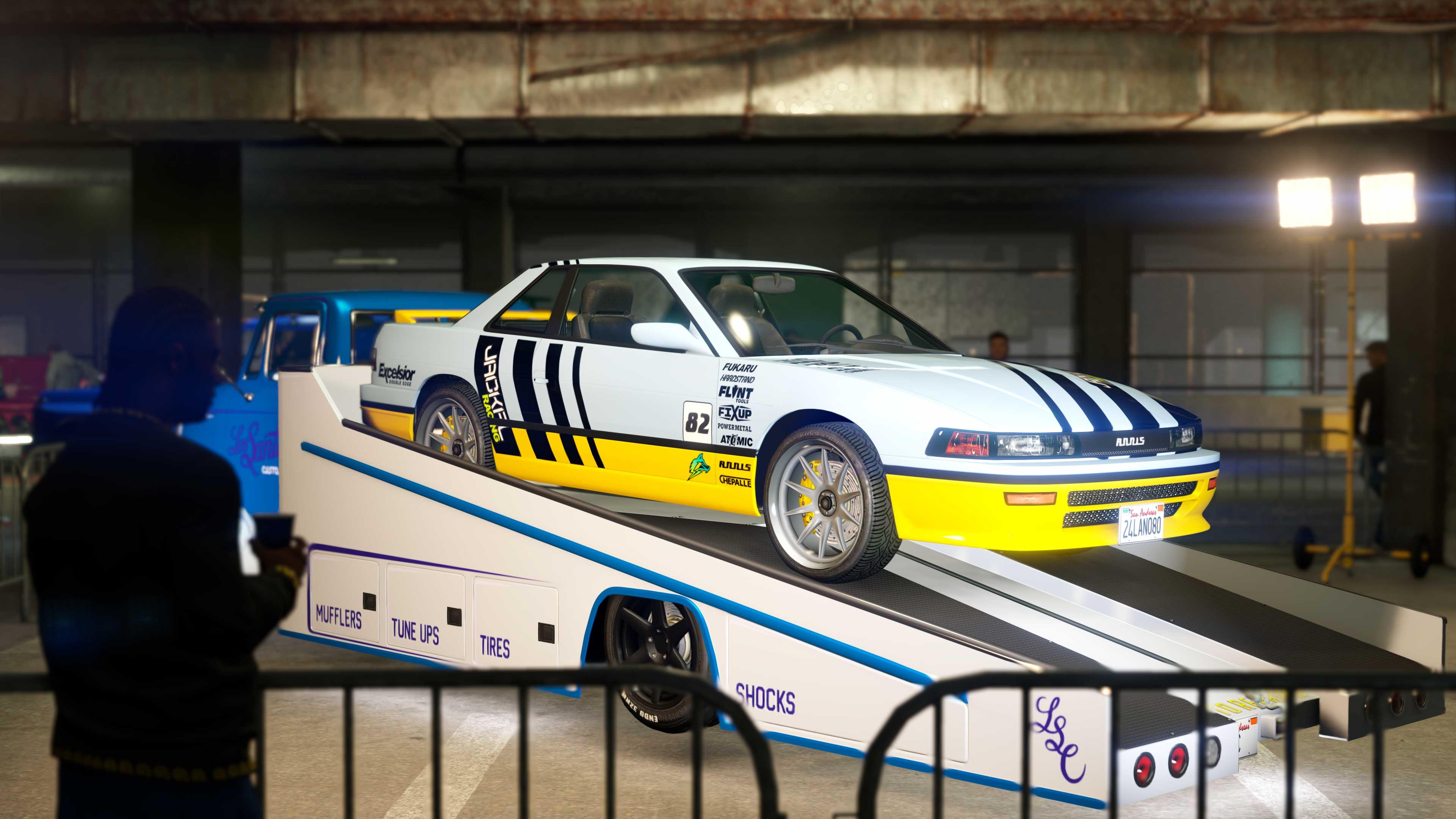 GTA Online Los Santos Tuners Ride Prize Challenge