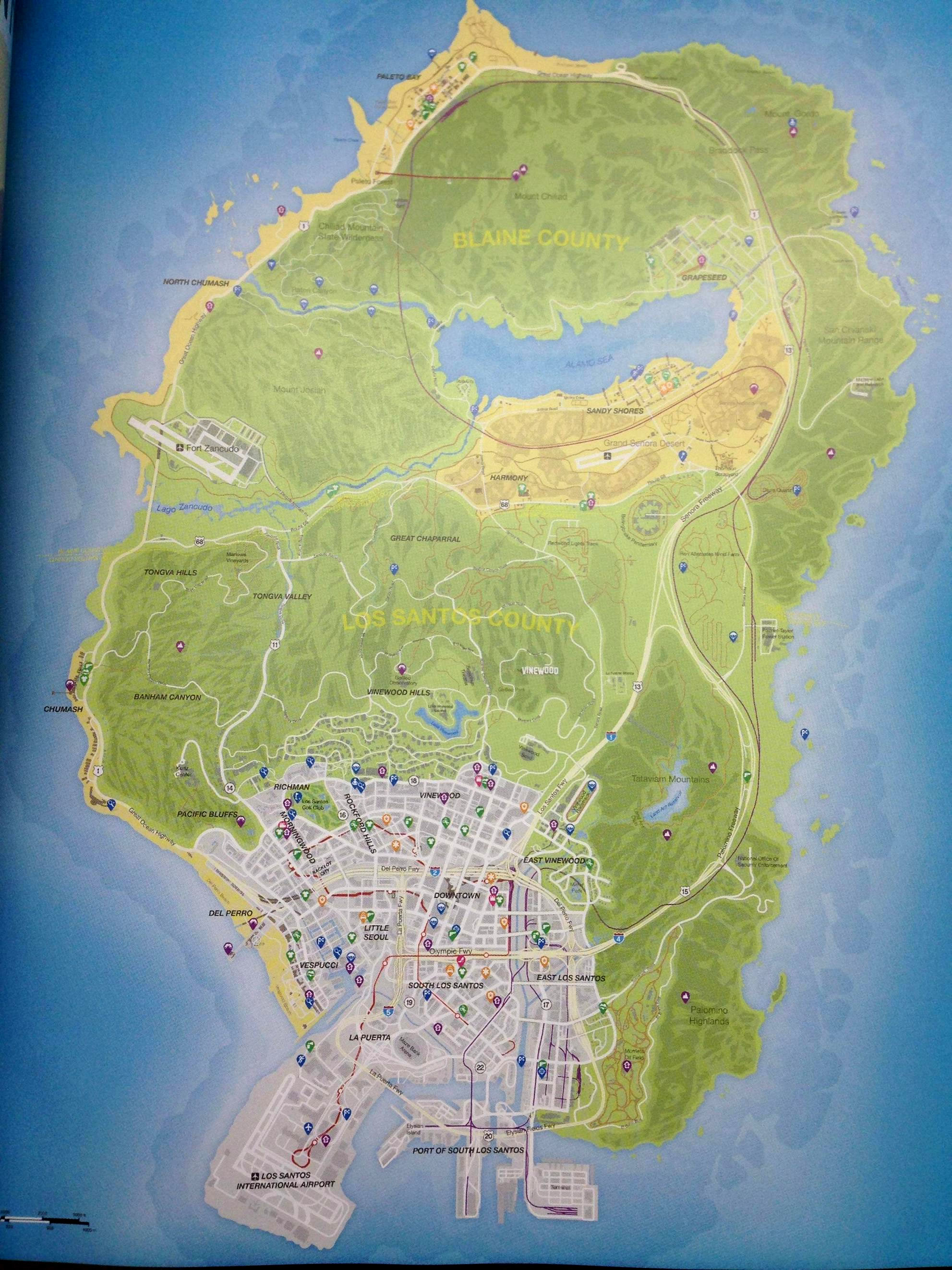 gta 5 térkép GTA Place ▫ Itt a hivatalos Grand Theft Auto V térkép, nem  gta 5 térkép