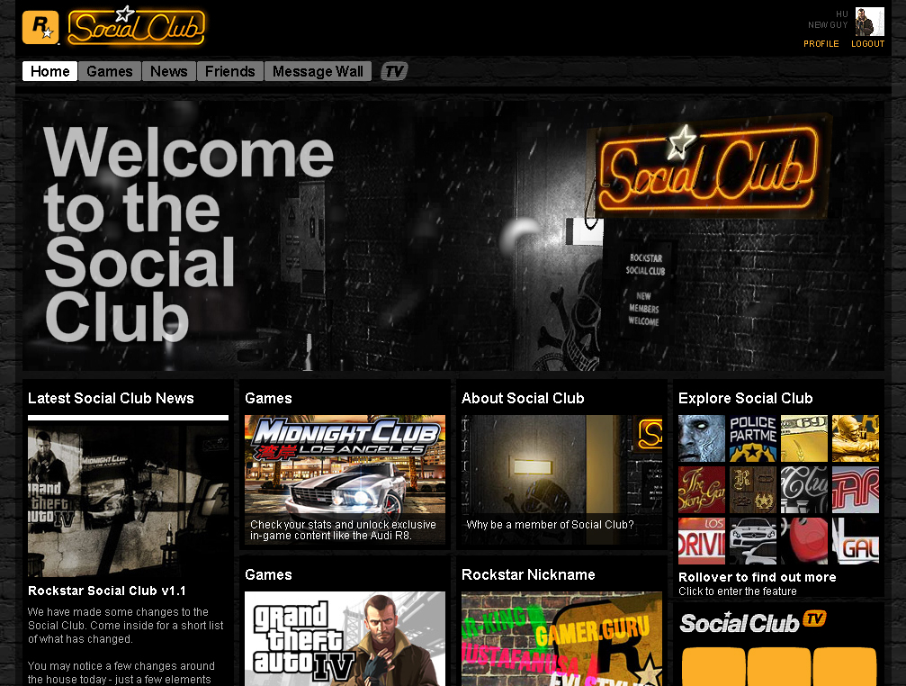 how to add games to rockstar social club